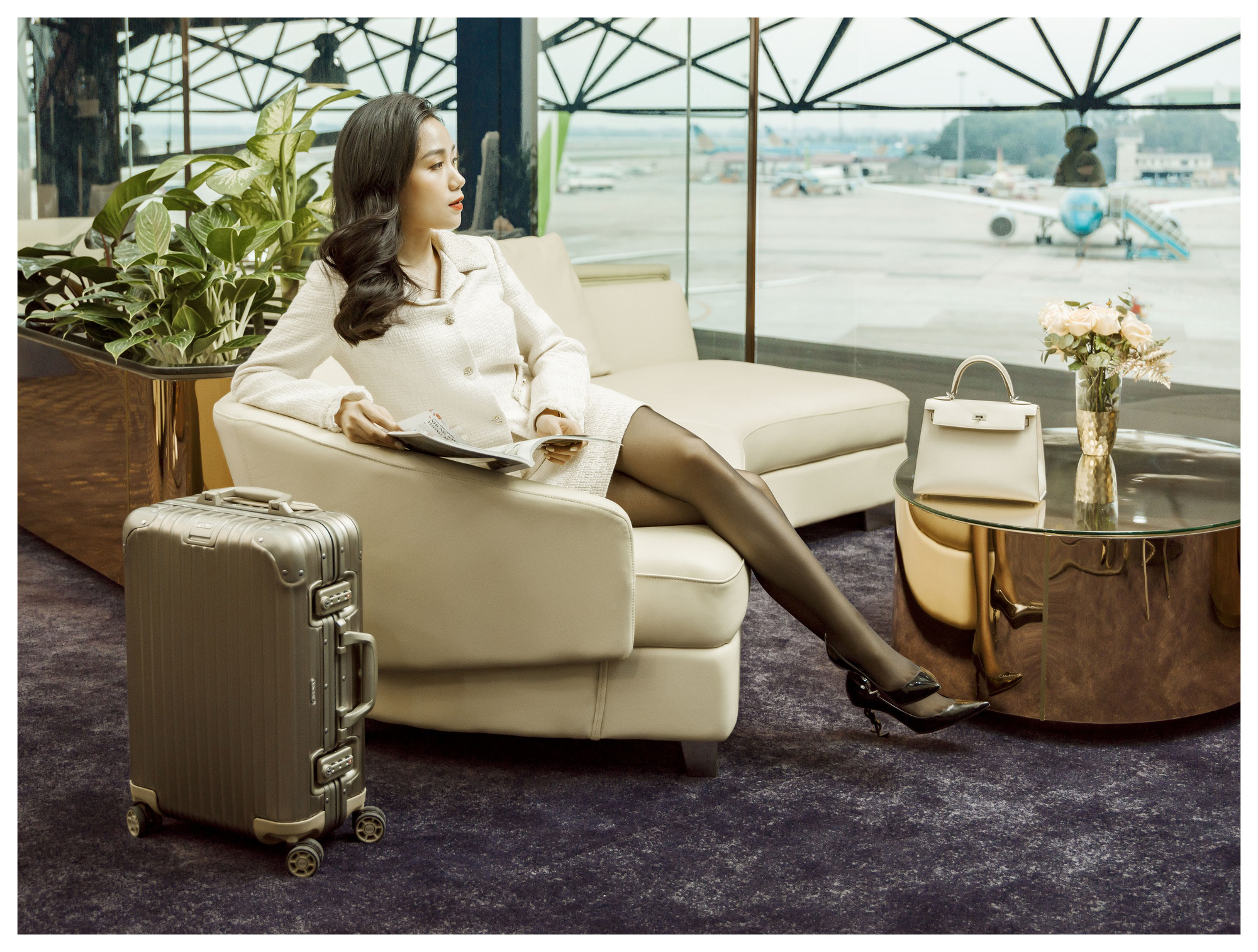 SHB First Club Nội Bài – phòng chờ sân bay mạ vàng 24K đầu tiên được ra mắt - Ảnh 3.