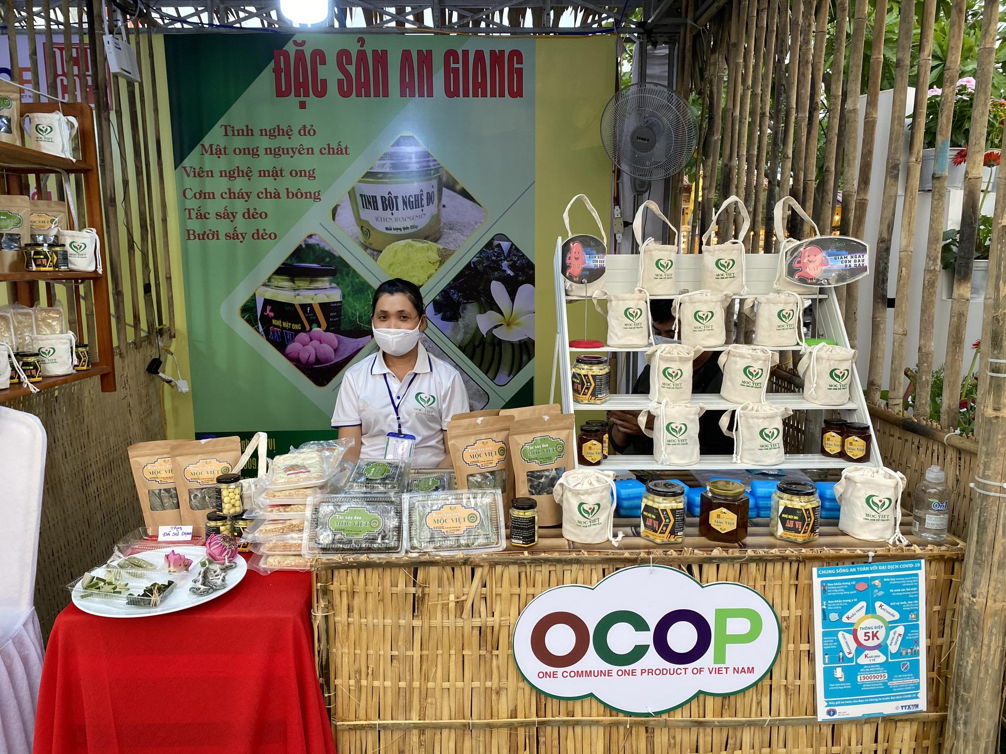 An Giang: Đưa sản phẩm OCOP đến tay người tiêu dùng - Ảnh 1.
