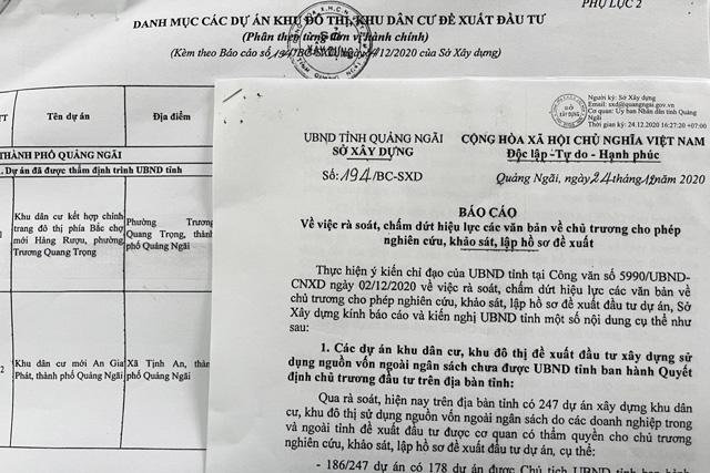 Quảng Ngãi: Doanh nghiệp rối vì dự án có chủ trương đầu tư vẫn bị chấm dứt khảo sát   - Ảnh 1.