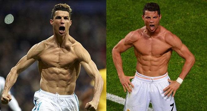 Cơ lưng cây thông cực đỉnh: Ronaldo chào thua Lý Tiểu Long - Ảnh 6.
