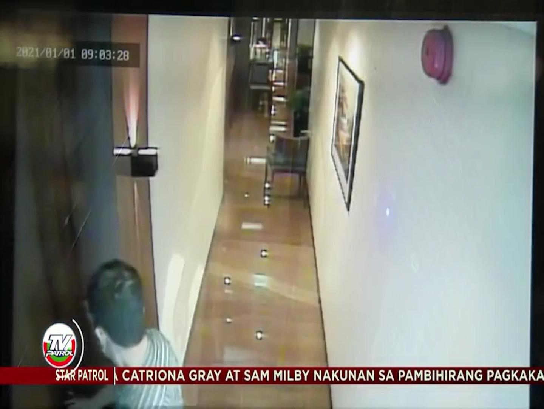 Clip: Camera hành lang hé lộ tình tiết về thời điểm tử vong của nữ tiếp viên hàng không Philippines, Christine Dacera - Ảnh 4.