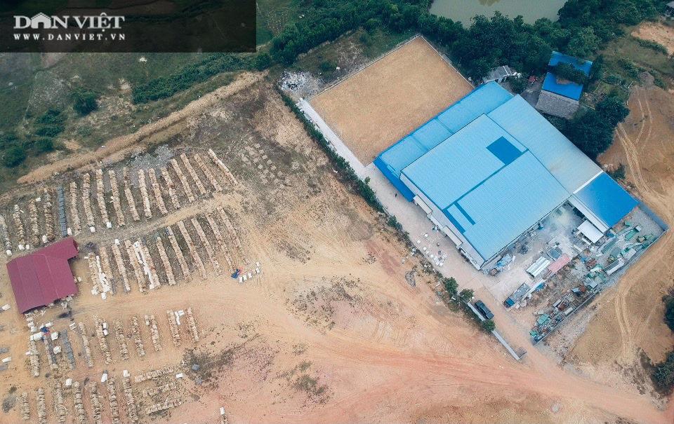 """Phú Thọ: Kiên quyết xử lý nghiêm nhà máy """"khủng"""" xây dựng trên đất rừng ở Thanh Sơn - Ảnh 1."""