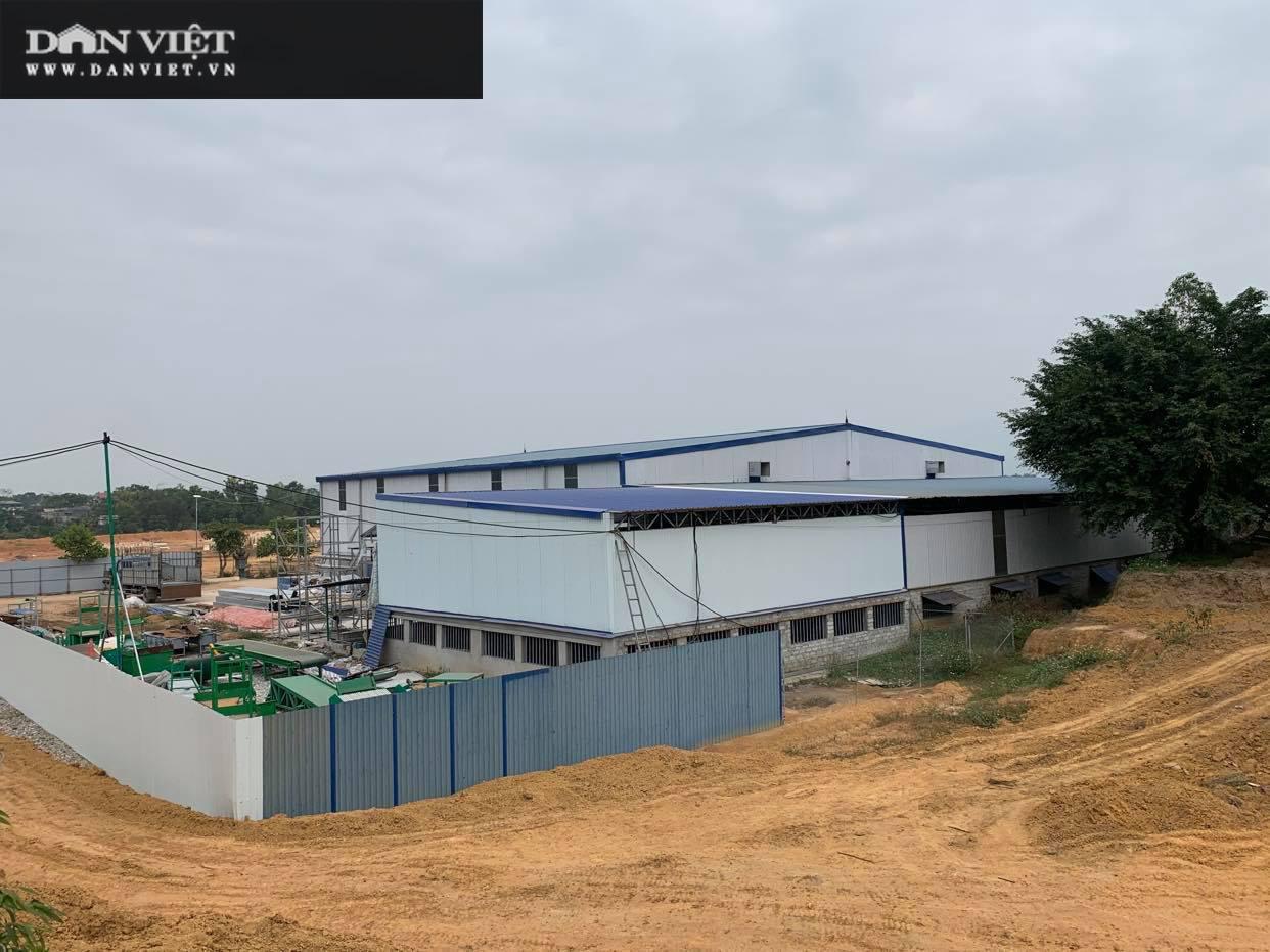"""Phú Thọ: Kiên quyết xử lý nghiêm nhà máy """"khủng"""" xây dựng trên đất rừng ở Thanh Sơn - Ảnh 3."""