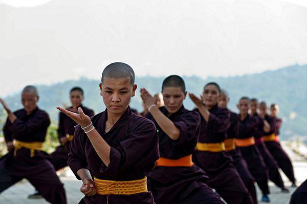 """Những ni cô """"tuyệt đỉnh Kung Fu"""" trên đỉnh Himalaya - Ảnh 3."""