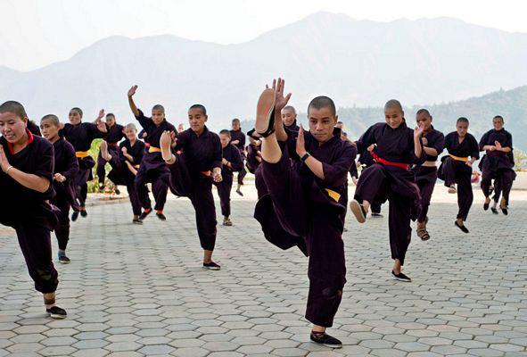 """Những ni cô """"tuyệt đỉnh Kung Fu"""" trên đỉnh Himalaya - Ảnh 5."""