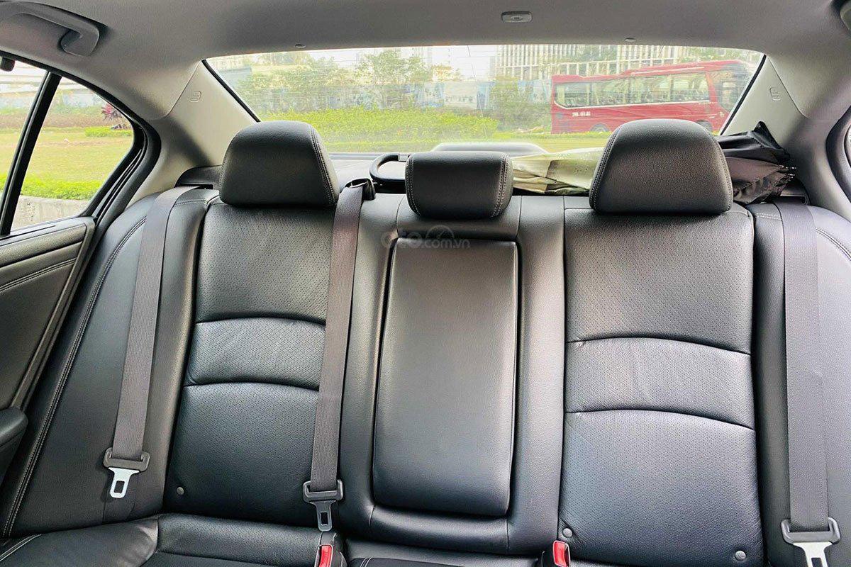 Hàng ghế sau xe Honda Accord 2017 1