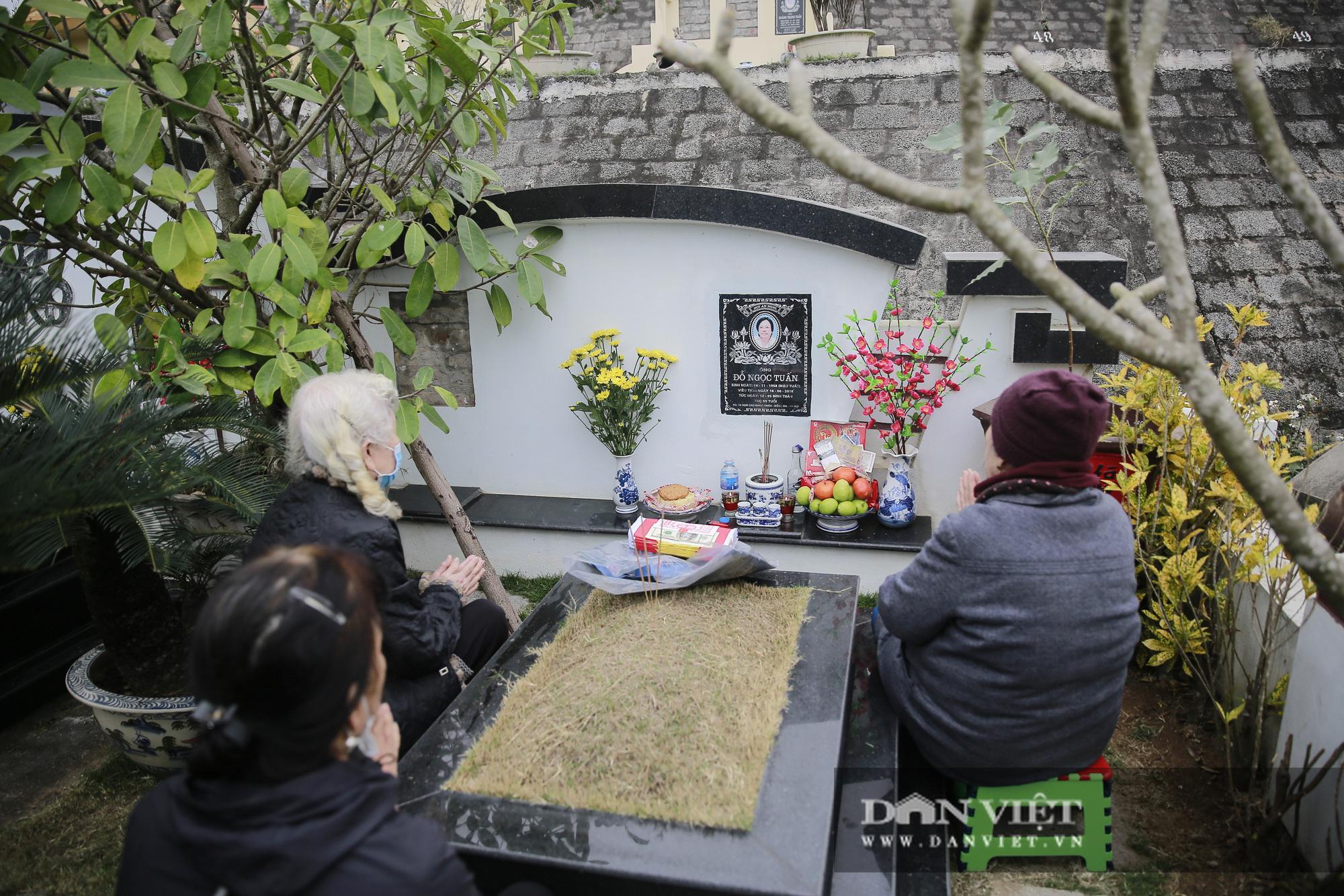 Siêu công viên nghĩa trang 5 sao nhộn nhịp những ngày cận Tết Nguyên đán - Ảnh 6.