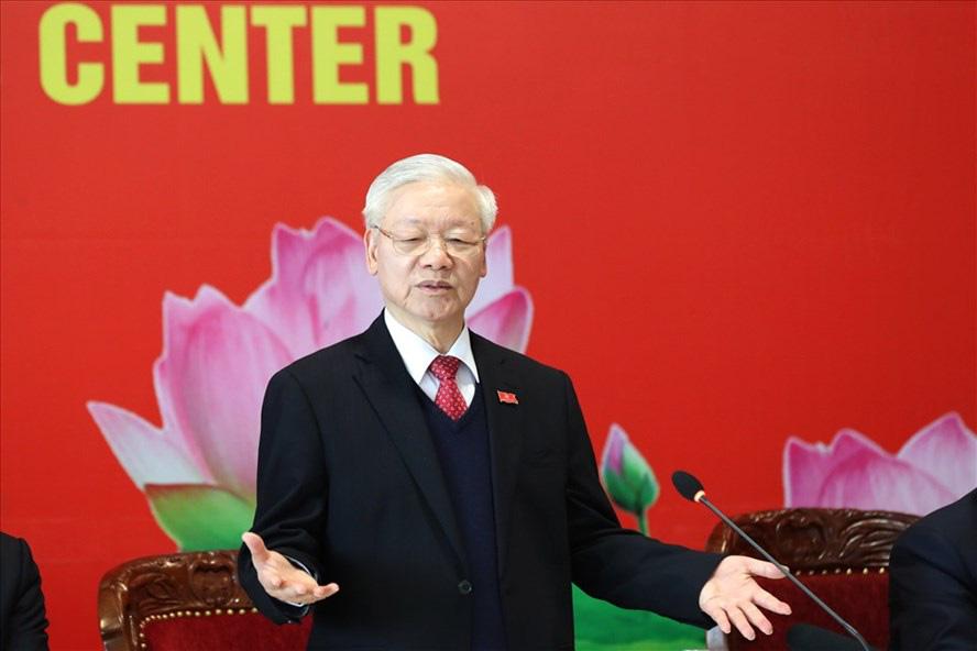 Ông Nguyễn Phú Trọng tái đắc cử Tổng Bí thư: Mong muốn tiếp tục tạo ra kỳ tích và làm Đảng ta trong sạch - Ảnh 1.
