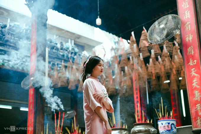 Gợi ý nơi chụp ảnh áo dài Tết đẹp ở Sài Gòn - Ảnh 5.