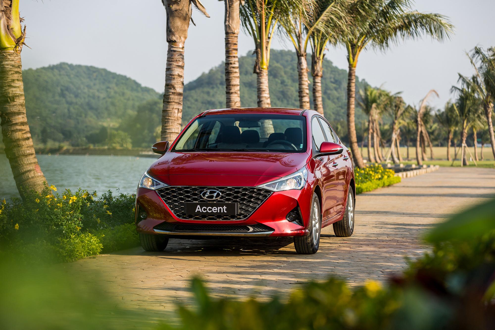 Bất ngờ với doanh số Hyundai Accent trong tháng 1/2021 - Ảnh 1.
