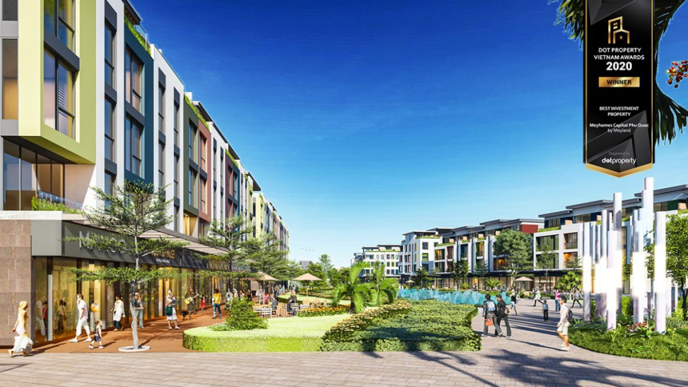 """Meyhomes Capital Phú Quốc là dự án đầu tư tốt nhất năm 2020 - Best Investment Propety Vietnam 2020""""."""