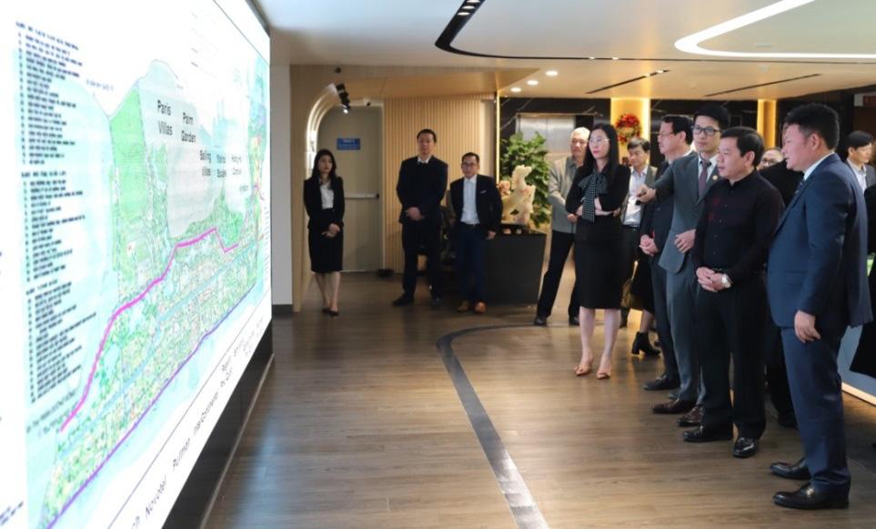 Sau Đắk Lăk và Quy Nhơn, tập đoàn Tân Á Đại Thành tiếp tục đề xuất tài trợ lập quy hoạch đô thị tại Quảng Ngãi