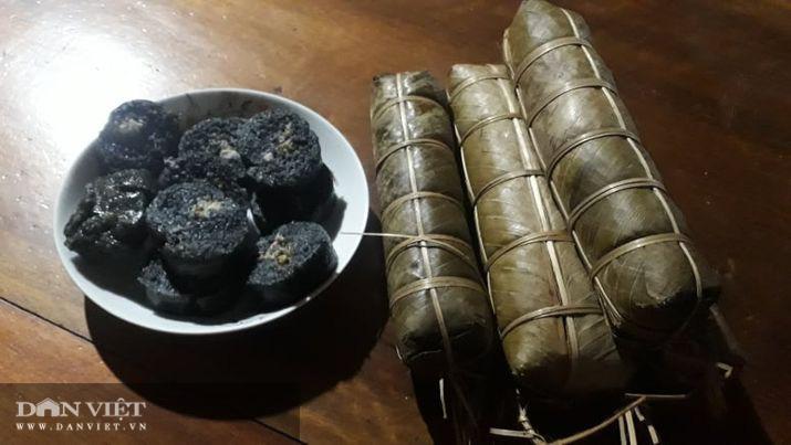 Độc đáo chiếc bánh chưng đen trong Tết cổ truyền của người Tày Văn Chấn Yên Bái - Ảnh 9.
