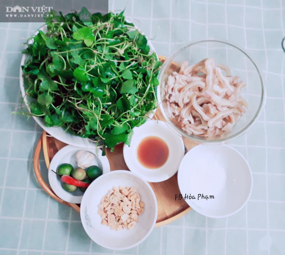 Cách làm nộm rau má tai lợn thanh mát cho bữa ăn ngày Tết - Ảnh 1.