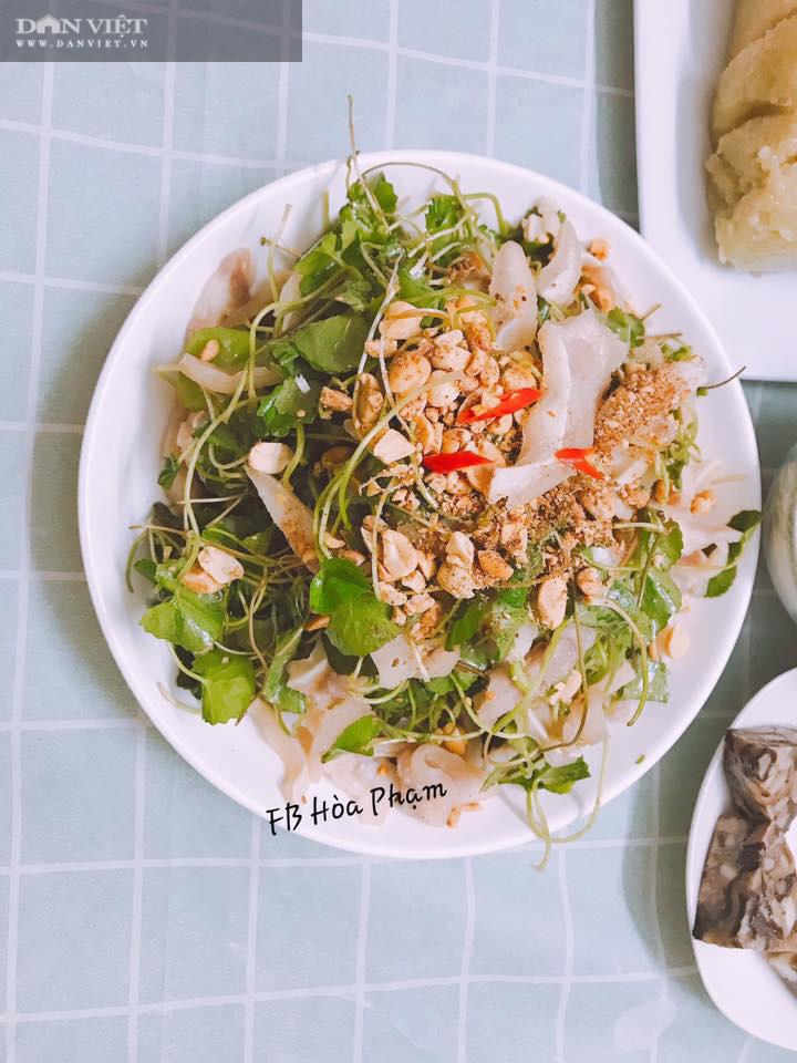 Cách làm nộm rau má tai lợn thanh mát cho bữa ăn ngày Tết - Ảnh 2.