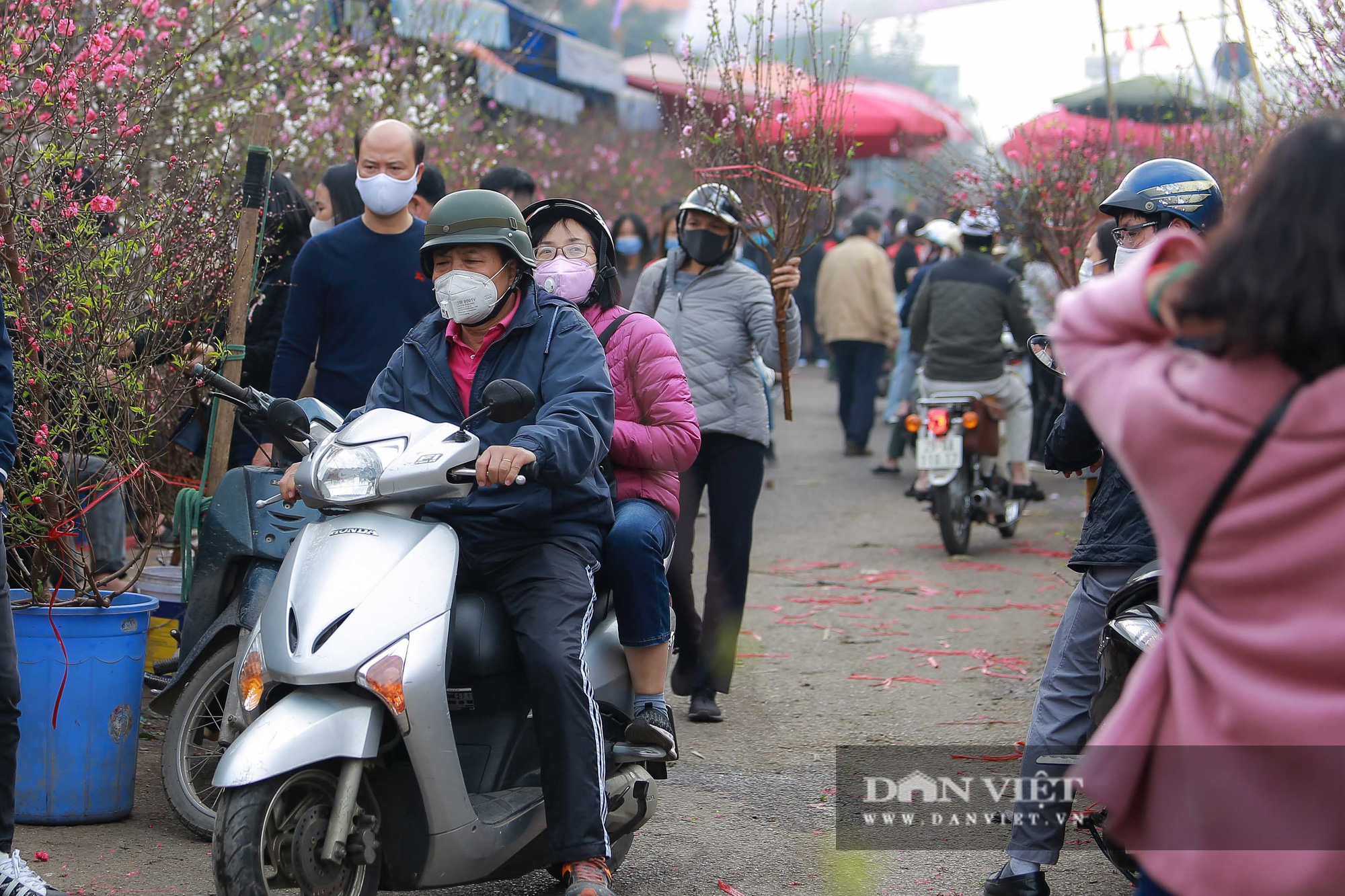 Chợ hoa Quảng Bá tấp nập những ngày cuối năm - Ảnh 2.