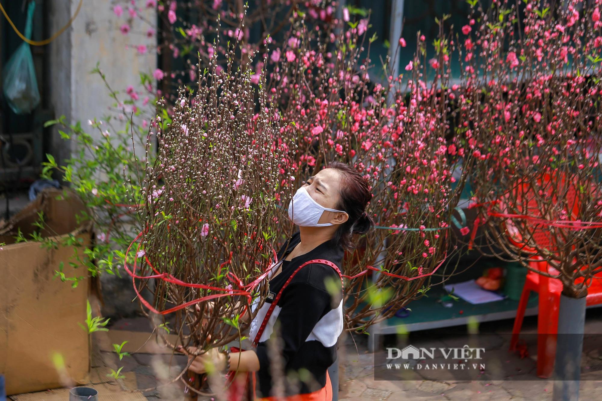 Chợ hoa Quảng Bá tấp nập những ngày cuối năm - Ảnh 8.