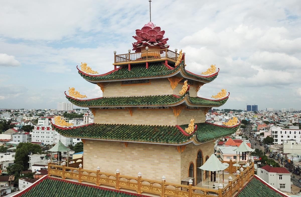 Hai ngôi chùa lập kỷ lục ở TP Thủ Đức - Ảnh 9.