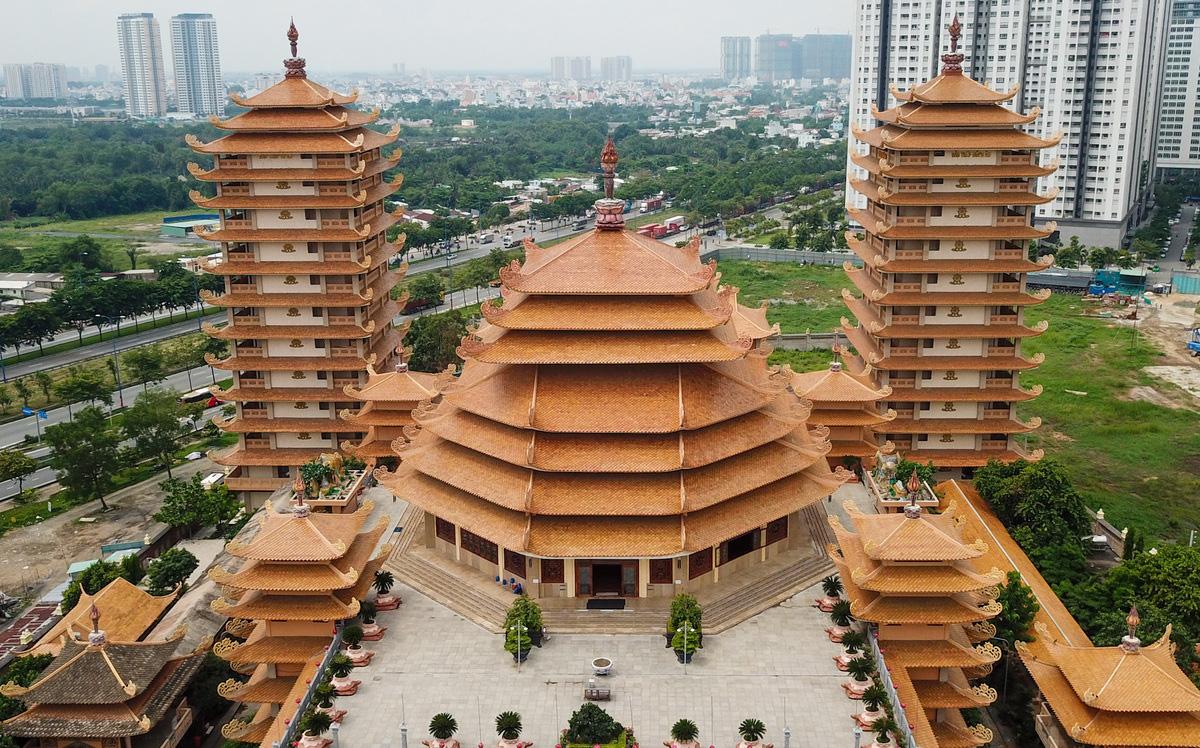 Hai ngôi chùa lập kỷ lục ở TP Thủ Đức - Ảnh 3.