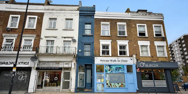 """Mục sở thị ngôi nhà """"mỏng nhất"""" của Vương quốc Anh được rao bán với giá 1,3 triệu USA - Ảnh 2."""