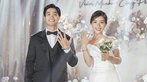 """5 đám cưới """"khủng"""" của cầu thủ Việt năm 2020: Toàn lấy tiểu thư """"cành vàng lá ngọc"""" - Ảnh 2."""