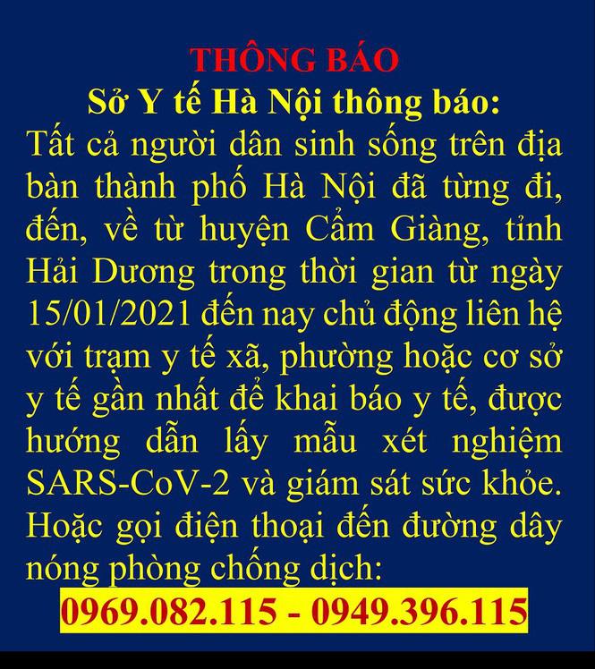 Chủ tịch Hà Nội: Người dân quay trở lại Hà Nội phải khai báo y tế, cảnh sát sẽ đi kiểm soát - Ảnh 1.