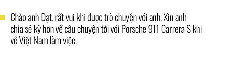Chủ xe Nha Trang kể chuyện mua Porsche 911 Carrera S: 'Mua xe 10 tỷ mà chỉ nhìn qua giấy, giật mình với những option bằng cả chiếc Kia' - Ảnh 1.
