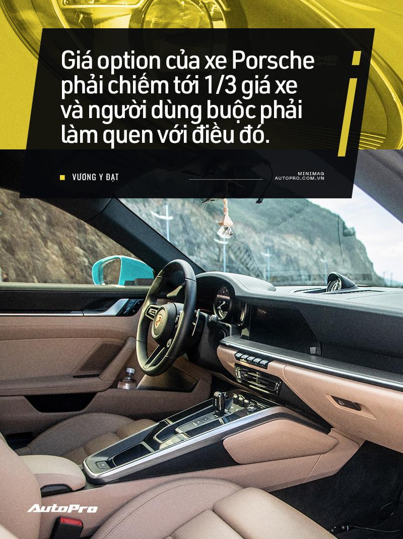Chủ xe Nha Trang kể chuyện mua Porsche 911 Carrera S: 'Mua xe 10 tỷ mà chỉ nhìn qua giấy, giật mình với những option bằng cả chiếc Kia' - Ảnh 7.