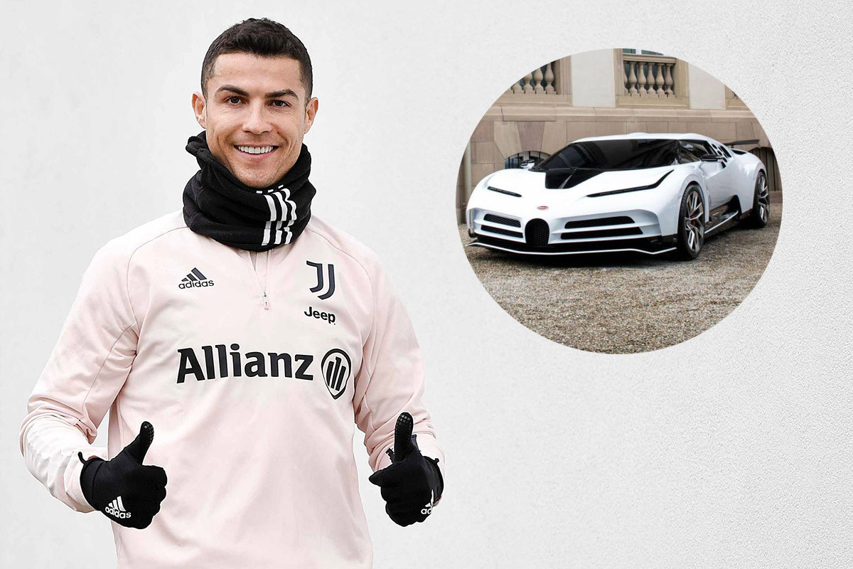 Ronaldo sở hữu siêu xe Bugatti trị giá 223 tỷ đồng - Ảnh 1.