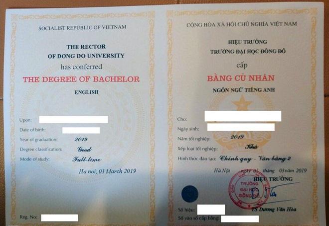 Lộ danh tính nhiều người được Đại học Đông Đô cấp bằng giả - Ảnh 3.