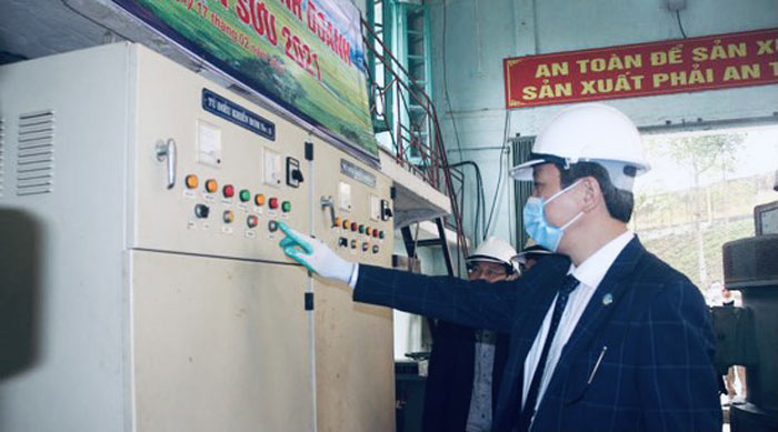 Chùm ảnh: Phó Chủ tịch UBND tỉnh Thanh Hóa Lê Đức Giang dự lễ ra quân, kiểm tra sản xuất đầu năm - Ảnh 6.