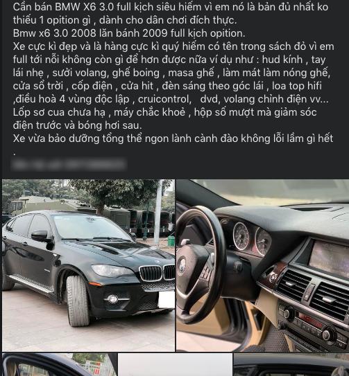 BMW X6 chạy 13 năm, người dùng công bố giá bán hấp dẫn - Ảnh 2.