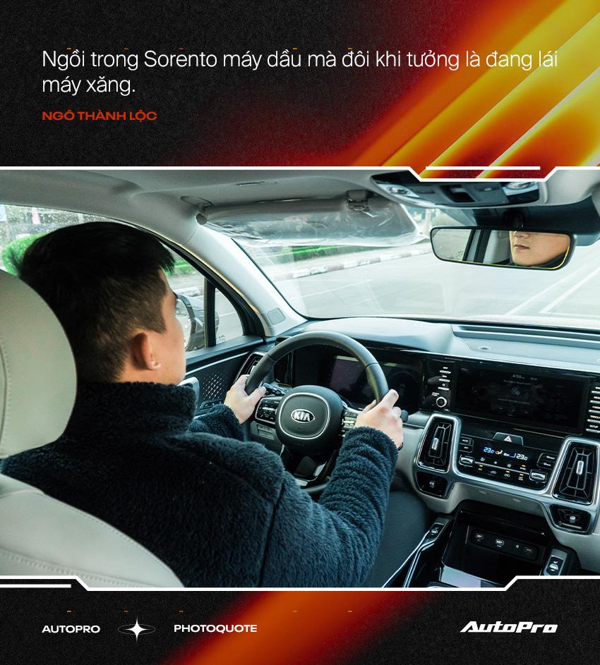 Người dùng đánh giá Kia Sorento 2021: Có cái hơn Range Rover, tiết kiệm hơn Fadil nhưng còn nhiều 'cái gai' cần khắc phục - Ảnh 3.
