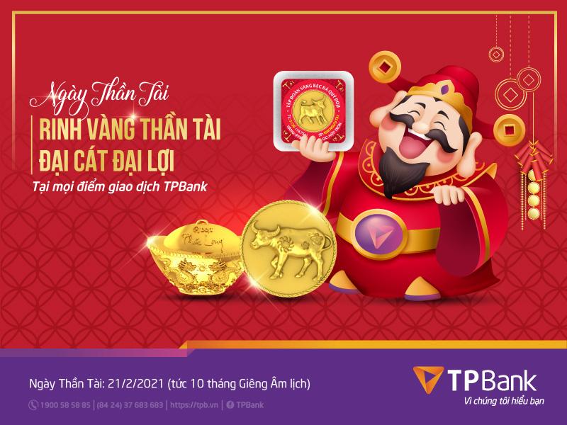 Mua vàng đầu năm, đón lộc may mắn cùng TPBank - Ảnh 1.