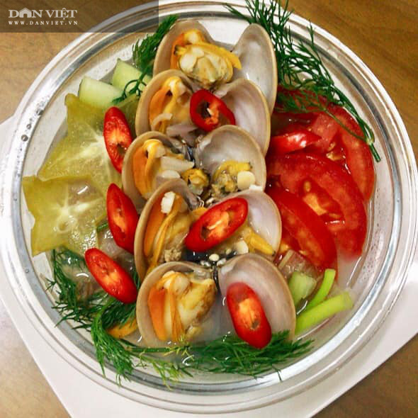 Bí quyết nấu món canh chua nghêu ngọt mát - Ảnh 2.