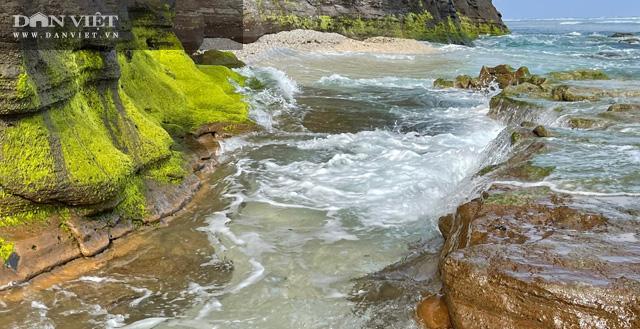 Quảng Ngãi: Mê hoặc rêu xanh nơi sóng tự tình với đá ở thiên đường du lịch  - Ảnh 13.