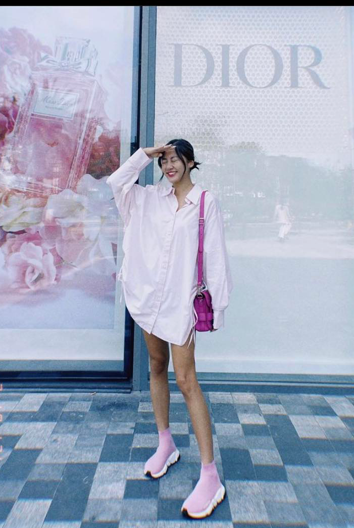 Ngắm phong cách thời trang khi du xuân của các mỹ nhân Việt - Ảnh 7.