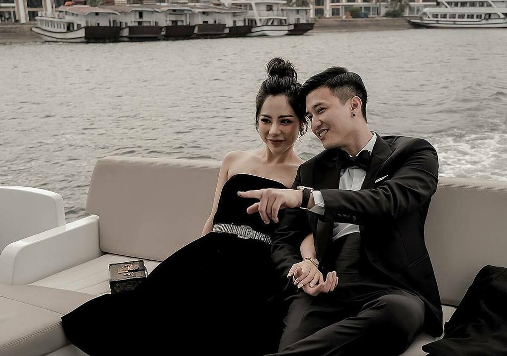 Huỳnh Anh và những cuộc tình toàn mỹ nhân trước khi cầu hôn bạn gái hơn tuổi - Ảnh 1.