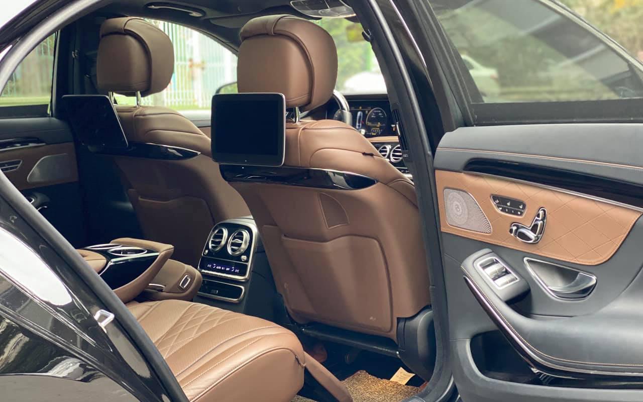 Không gian Nội thất S450 Luxury 2019.