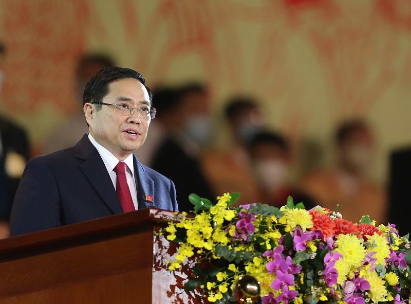 """Ủy viên Bộ Chính trị Phạm Minh Chính: """"Phải làm cho Đảng ta thật sự là đạo đức, là văn minh"""" - Ảnh 1."""