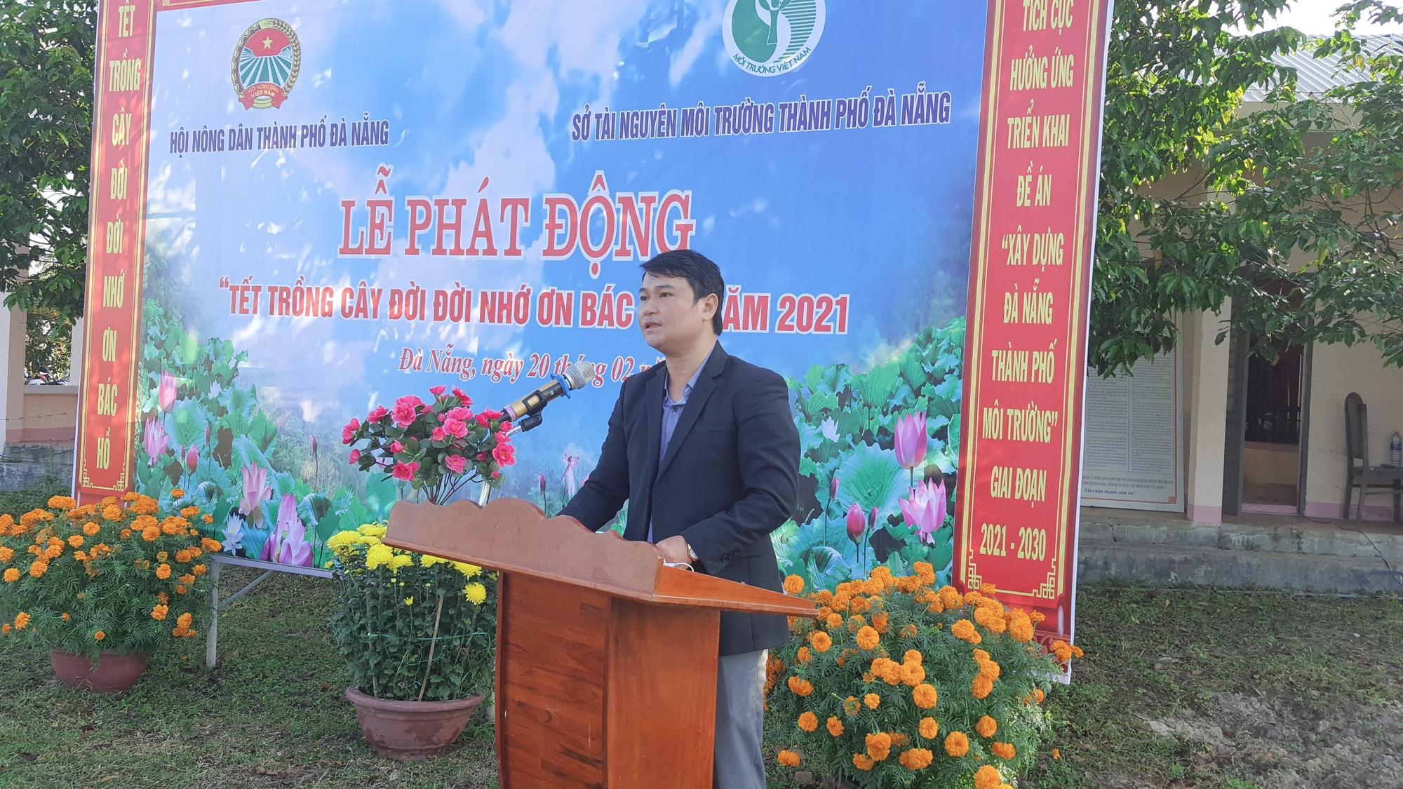 """Hội Nông dân TP Đà Nẵng tổ chức Lễ phát động """"Tết trồng cây đời đời nhớ ơn Bác Hồ"""" năm 2021 - Ảnh 1."""