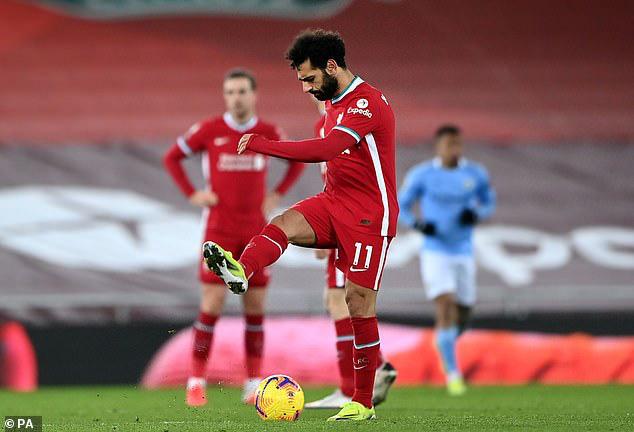 Salah chỉ có thể hướng tới mục tiêu top 4.