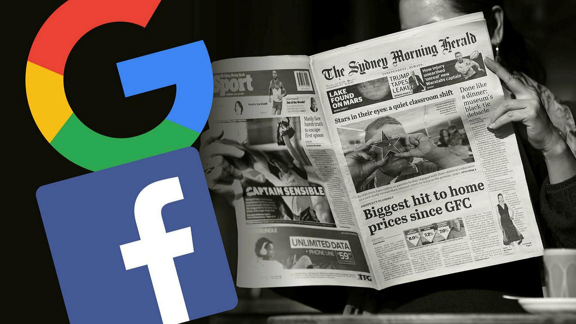 Úc quyết không nhượng bộ Facebook - Ảnh 1.