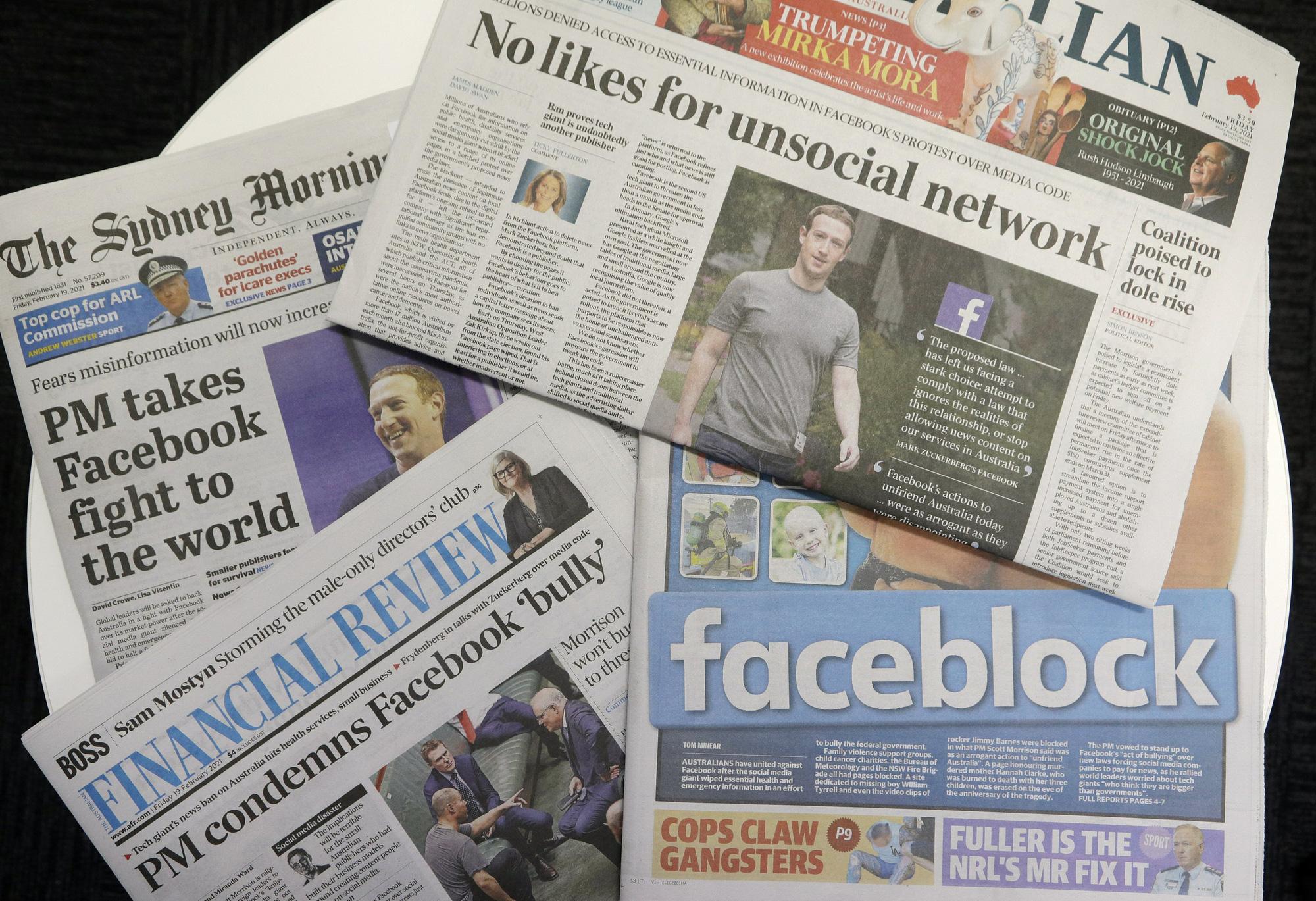Facebook phản đòn nước Úc: liệu ai thắng, ai thua? - Ảnh 1.