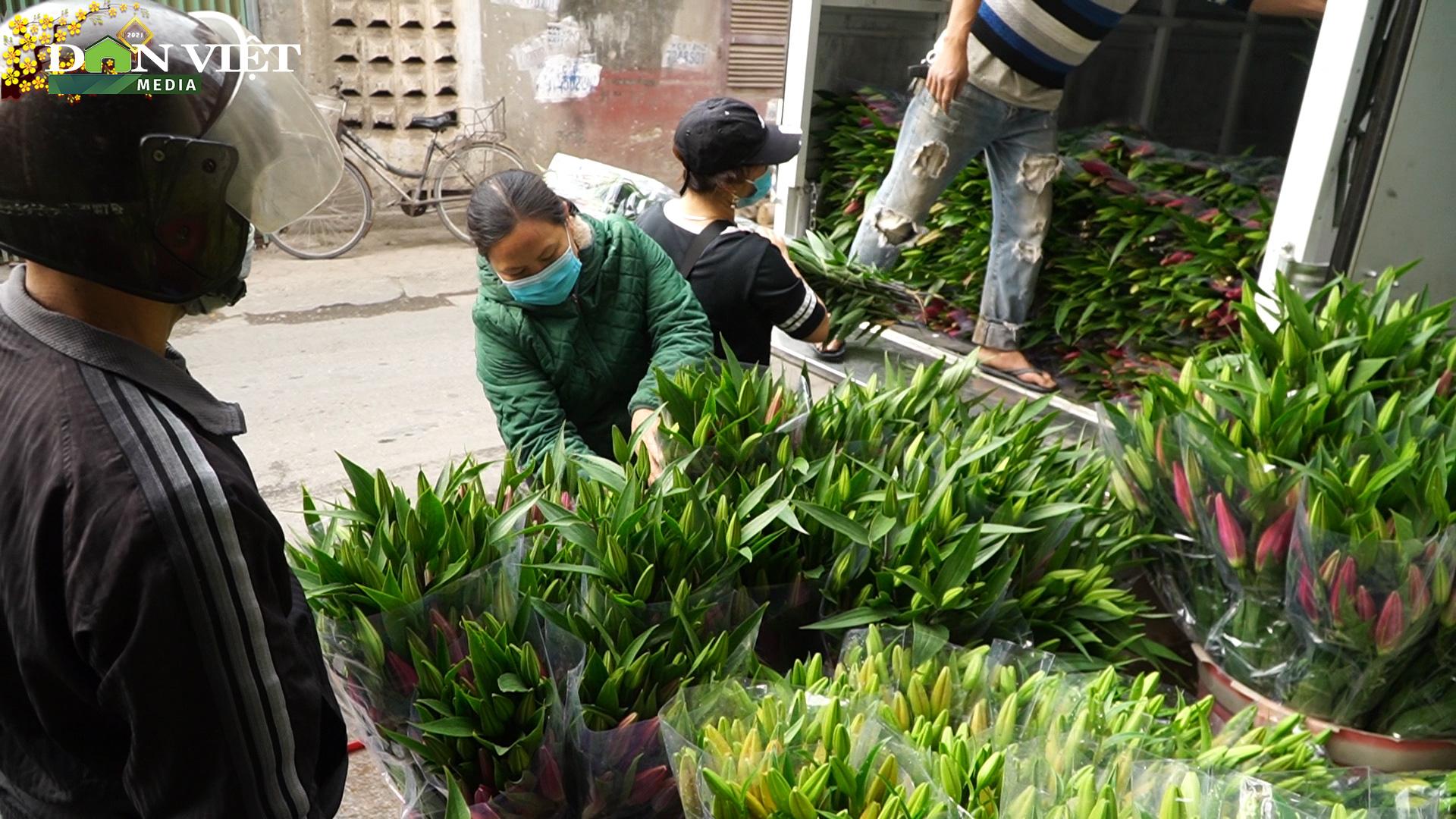 """Hoa ly rớt giá rẻ như rau, người dân làng Tây Tựu """"ngồi trên đống lửa"""" - Ảnh 3."""