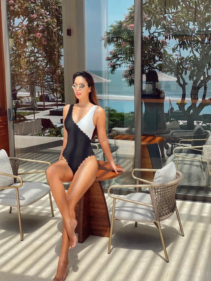 """BTV Hoài Anh xinh đẹp """"đốn tim"""" ở tuổi 41, Hà Anh mặc bikini chân dài nóng bỏng - Ảnh 3."""
