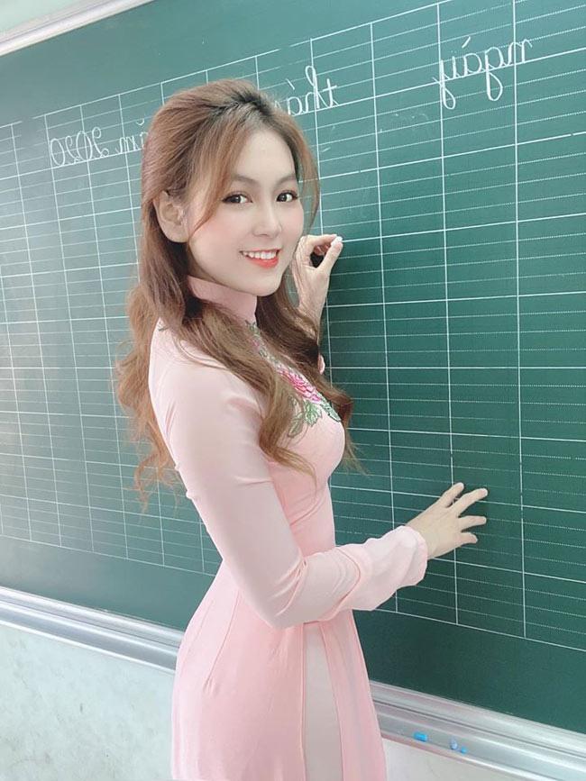 """""""Cô giáo nóng bỏng, gợi cảm nhất Việt Nam"""" sở hữu vóc dáng y như người mẫu - Ảnh 2."""