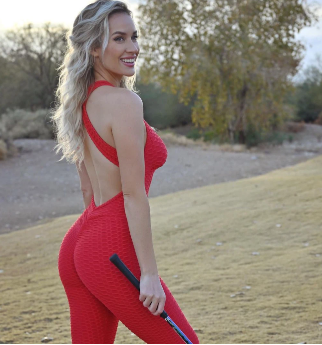 Nhờ vòng 1 siêu khủng, nữ golf thủ kiếm tiền giỏi hơn Tiger Woods - Ảnh 1.