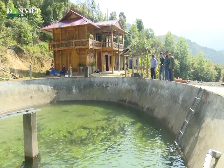 Sơn La: Xây bể trên núi cao nuôi cá đặc sản, cá nuôi đến đâu bán hết đến đó - Ảnh 2.