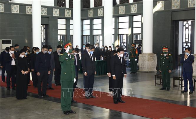 Ảnh: Lễ viếng nguyên Phó Thủ tướng Trương Vĩnh Trọng tại Hà Nội - Ảnh 5.